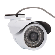 "| 1/3"" Cmos 1200TVL 6MM 36LED HD IR Night Vision Security Video Camera white (Intl)"