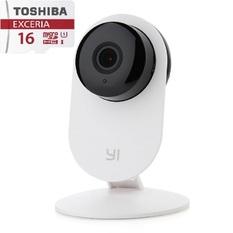 | Bộ 1 Camera quan sát Xiaomi ngày đêm xem lại thời gian và 1 Thẻ nhớ toshiba class 10 16GB