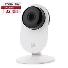| Bộ 1 Camera quan sát Xiaomi ngày đêm xem lại thời gian và 1 Thẻ nhớ toshiba class 10 32GB