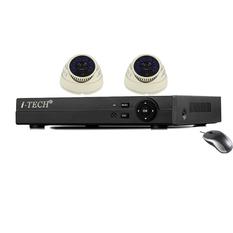 | Bộ 2 camera quan sát AHD - ATP- IT RX-C6AN10 (Trắng)