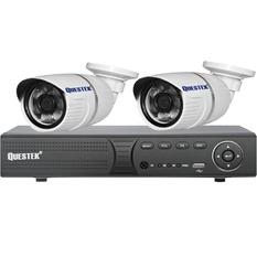 | Bộ 2 camera quan sát AHD - ATP- QT QTX-2121AHD (Trắng)