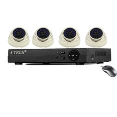 | Bộ 4 camera quan sát AHD - ATP- IT RX-C6AN10 (Trắng)