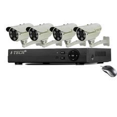 | Bộ 4 camera quan sát AHD - ATP- IT TXA-T06EG10 (Trắng)