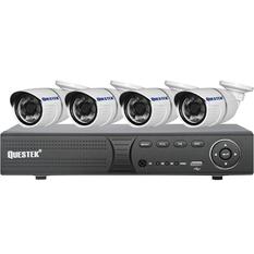 | Bộ 4 camera quan sát  QUESTEK AHD ATPQT QTX-2121AHD( Đen/ Trắng )