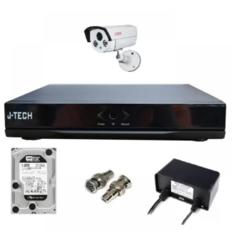 | Bộ camera AHD J-Tech 5600 ( 01 Camera + 01 Đầu ghi hình 4 kênh + 01 Ổ cứng 250Gb)