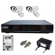| Bộ camera AHD J-Tech 5600 250GB