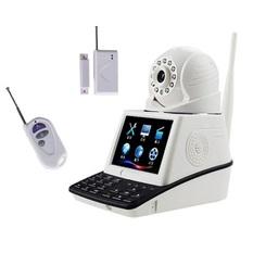 | Bộ camera giám sát và báo động Vinatech NPC-T1 LCD Wifi (Trắng)