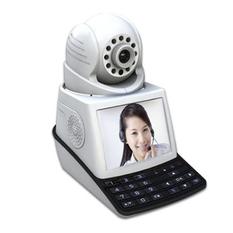 | Bộ camera giám sát và báo động Vinatech NPC-T1A LCD Wifi (Trắng)