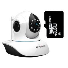 | Bộ Camera IP giám sát Vantech VT-6300A Wifi (Trắng) và Thẻ nhớ Micro SD 32GB