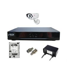 | Bộ camera IP J-Tech 5600 (1 camera + 1 đầu ghi 4CH + 01 HDD 250G)