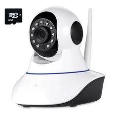 | Bộ Camera IP quan sát và báo động Vinatech IPC-W3 (Trắng) + Thẻ nhớ MicroSD 32GB