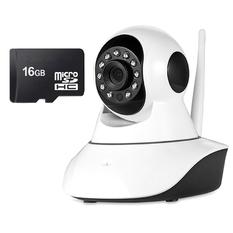 | Bộ camera quan sát IP Wifi Vinatech VN-6300A và thẻ nhớ 16GB(Trắng)