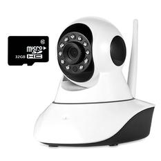 | Bộ camera quan sát IP Wifi Vinatech VN-6300A và thẻ nhớ 32GB(Trắng)