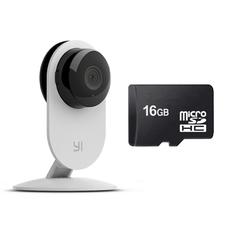 | Bộ Camera quan sát Xiaomi ngày đêm Tiếng Việt (Trắng) và Thẻ nhớ Micro SDHC 16GB