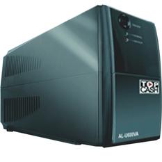 | Bộ lưu điện và ổn áp UPS Topcash AL-U600VA (Đen)