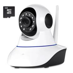 | Camera IP giám sát Elitek EIP-8710 Wifi (Trắng) + Thẻ nhớ Micro SD 16GB
