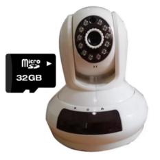 | Camera IP giám sát Elitek EIP-9010 Wifi + thẻ 32GB (Trắng)