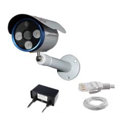 | Camera IP J-TECH JT-HD5602 (1MP/ len 2.8mm) + Adapter + 5m Cáp tín hiệu