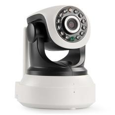 | Camera IP P2P Wifi thông minh HS8809 HD 720P xoay 360 độ (Đen)