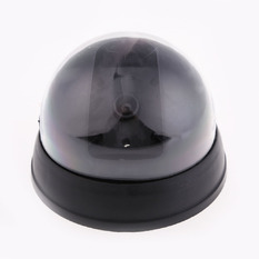 | Dummy Fake Surveillance CCTV Security Dome Camera w/ Flashing Red LED Light (Intl)