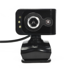 | HD Webcam 3 LED Built-in MIC (Black)(Intl)