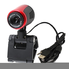| High Definition Free Driver USB Webcam Laptop PC Computer  Camera w/ Microphone (Intl)