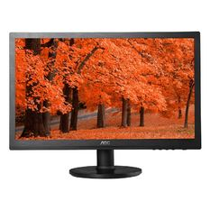 | Màn hình máy tính LED AOC 19.5inch - E2060SWN (Đen)