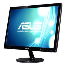 Màn hình máy tính LED Asus 18.5inch - Model VS197DE (Đen)