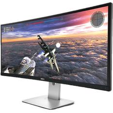 | Màn hình máy tính LED Dell 21.5 inch 2K - Model U3415W (Đen)