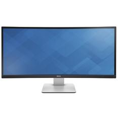 | Màn hình máy tính LED Dell 34inch Curved WQHD – Model UltraSharp U3415W (Đen)