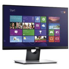 | Màn hình máy tính LED LCD Dell 19.5inch HD - Model Entry E2016H (Đen)