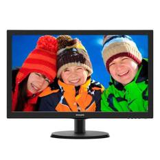 | Màn hình máy tính Philips 21.5inch Full HD - Model 223V5LSB (Đen)