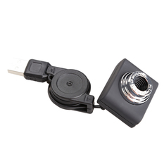 | Mini 5 Mega-pixel Webcam USB 2.0 Web Cam with Stretchable Cable for Laptop (Intl)