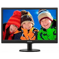 | Monitor Philips 18.5 inch 193V5LSB LED (Đen)