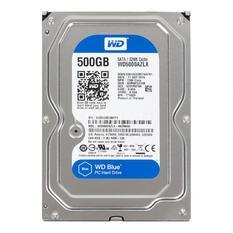 | Ổ cứng HDD Western 500GB 3.5 inch Sata (WD5000AZLX) (Xanh)