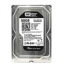 | Ổ cứng HDD Western 500GB 3.5 inch Sata (WD5003AZEX) (Đen)