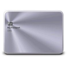 | Ổ Cứng Western My Passport Ultra Metal - 2TB - USB 3.0 (Bạc Ánh Kim)