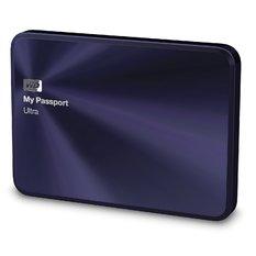 | Ổ cứng Western My Passport Ultra Metal – 2TB - USB 3.0 (Xanh Violet)