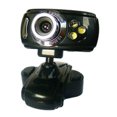 | USB Webcam With Mic PS Black (Intl)