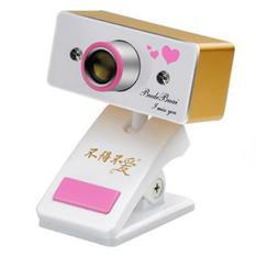 | Webcam cho laptop Budebuai TR350 (Vàng)