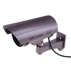 | Wireless Fake IP Camera Dummy Security System IR LED Surveillance (Purple) (Intl)